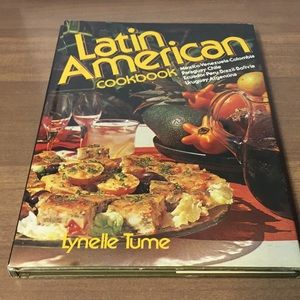 Vintage 1979 Latin American Cookbook Rare